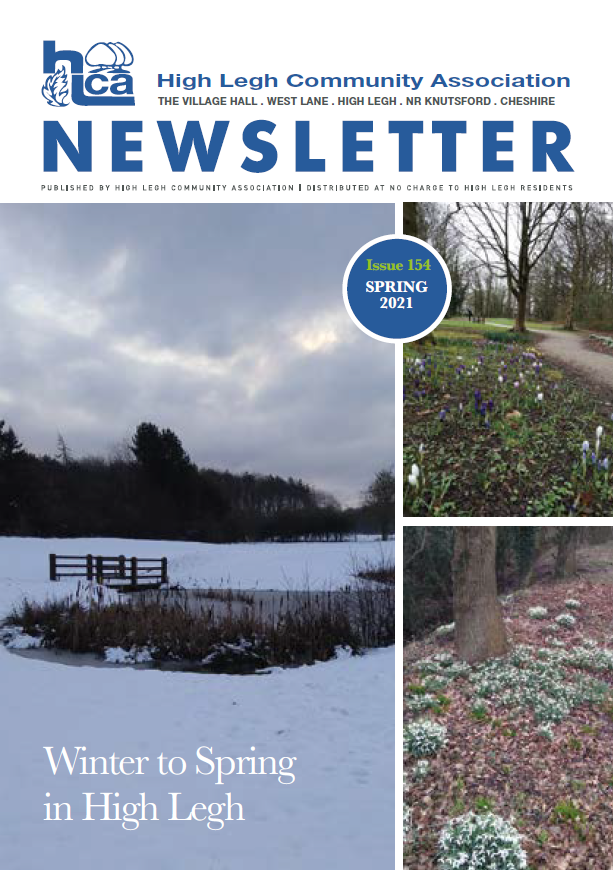 Newsletter spring cover